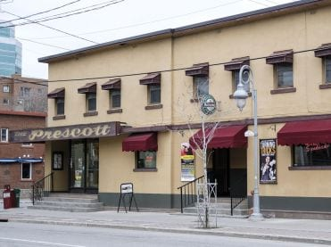 The Prescott Hotel in Ottawa